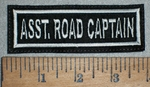 3532 L - Asst. Road Captain - Embroidery Patch