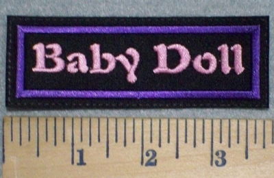 3239 L - Baby Doll - Embroidery Patch