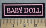 3477 L - Baby Doll - Pink - Embroidery Patch