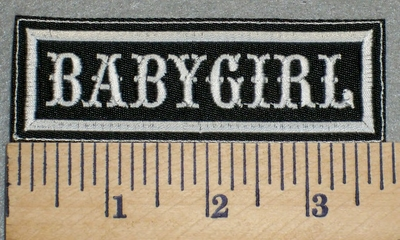 2422 L - Babygirl - Embroidery Patch