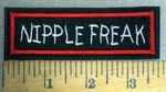 993 L - Nipple Freak - Embroidery Patch