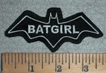 3334 L - Batgirl  - Embroidery Patch