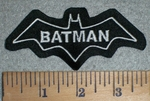 3332 L - Batman - Embroidery Patch