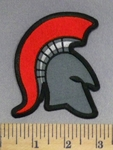 2243 CP - Spartan With Red Plume -  Embroidery Patch
