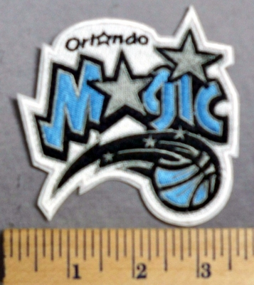 2003 C - Orlando Magic Basketball Logo - Embroidery Patch