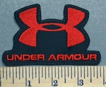 3276 L - Under Armour Logo - Red - Embroidery Patch