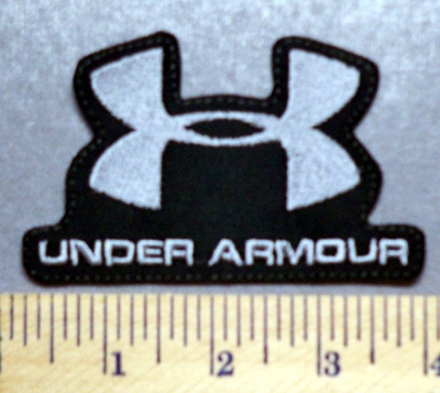 3268 L - Under Armour Logo - Gray - Embroidery Patch