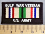 13 S - Gulf War Veteran - US Army - Embroidery Patch