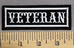 611 L - Veteran - Embroidery Patch