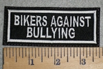 3388 L - Bikers Against Bullying - Embroidery Patch