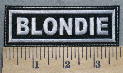 2503 L - Blondie - Embroidery Patch