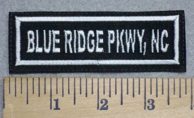 3399 L - Blue Ridge Pkwy, NC - Embroidery Patch