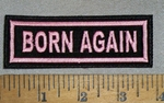 2 L - Born Again - Embroidery Patch