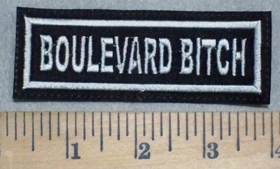 3493 L - Boulevard Bitch - Embroidery Patch