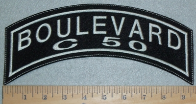 3099 L - Boulevard C 50 - Top Rocker - Embroidery Patch