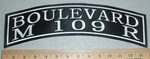 Boulevard M 109 R -  Top Rocker -  Embroidery Patch