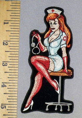 324 CP - Sexy Nurse - Embroidery patch