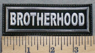 2507 L - Brotherhood - Embroidery Patch