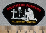 2616 W - Brothers Forever Fallen But Not Forgotten - Embroidery Patch