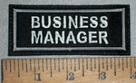 2207 L - Business Manager - Embroidery Patch