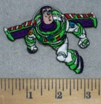 3446 C - Buzz Light Year - Toy Story - Embroidery Patch