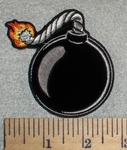 2598 G - Cannon Ball - Embroidery Patch