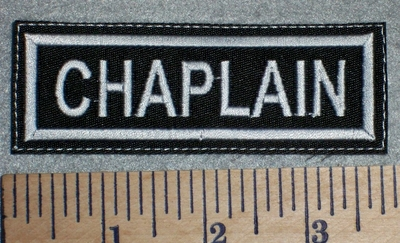 2646 L - Chaplain - Embroidery Patch