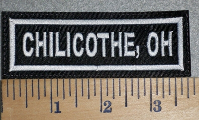 3386 L - Chilicothe, Oh - Embroidery Patch