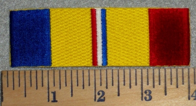 2831 W - Combat Stripes Desert Storm - Embroidery Patch