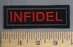 2155 L - Infidel - Embroidery Patch