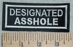 3080 L - Designated Asshole - Embroidery Patch