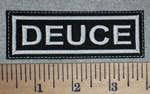 2633 L - Deuce - Embroidery Patch