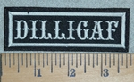 3118 L - DILLIGAF - Embroidery Patch