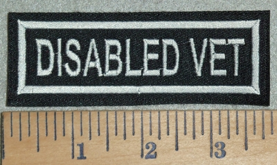 3120 L - Disabled Vet - Embroidery Patch
