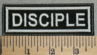 2475 L - Disciple - Embroidery Patch