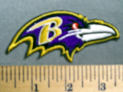 1594 C  - Baltimore Ravens  - Embroidery Patch