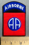 761 CP - Airborne -  Embroidery Patch