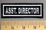 3505 L - Asst. Director - Embroidery Patch