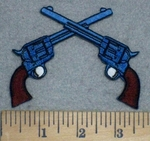 3414 N - Duel Pistols - Embroidery Patch