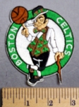 3281 C - Boston Celtics Basketball Logo - Embroidery Patch