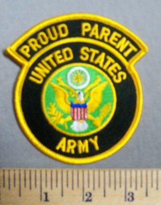 3588 S - Proud Parent - United States Army - Embroidery Patch