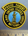 313 S - Proud Parent - United States Army National Guard - Embroidery Patch