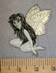 303 N - Fairy With Iridscent Wings - Embroidery Patch