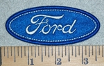 3111 C - Ford Logo  - Embroidery Patch