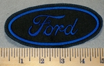 2360 L - Ford - Oval - Embroidery Patch