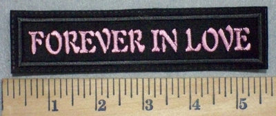 3429 G - Forever In Love - 5.5 Inch - Embroidery Patch