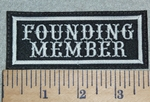 3031 L - Founding Member- Embroidery Patch