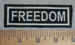 2934 L - Freedom - Embroidery Patch