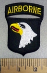 326 C - Airborne - Embroidery Patch
