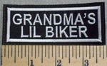 2559 L - Grandma's Lil Biker - Embroidery Patch